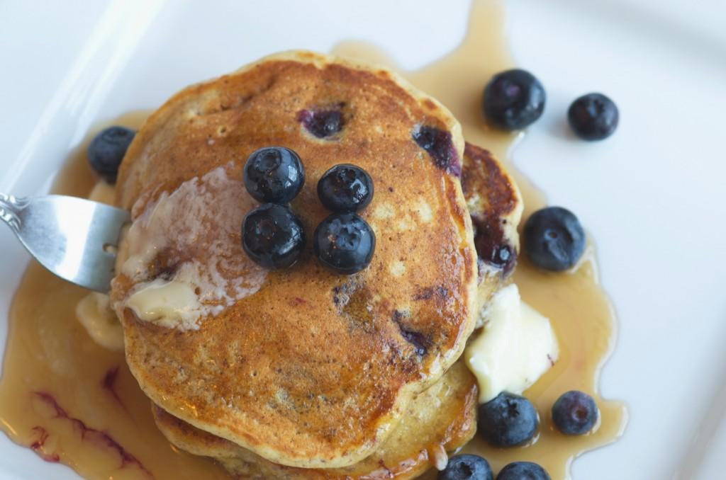 Flax Blueberry Pancake | Slice of Taste