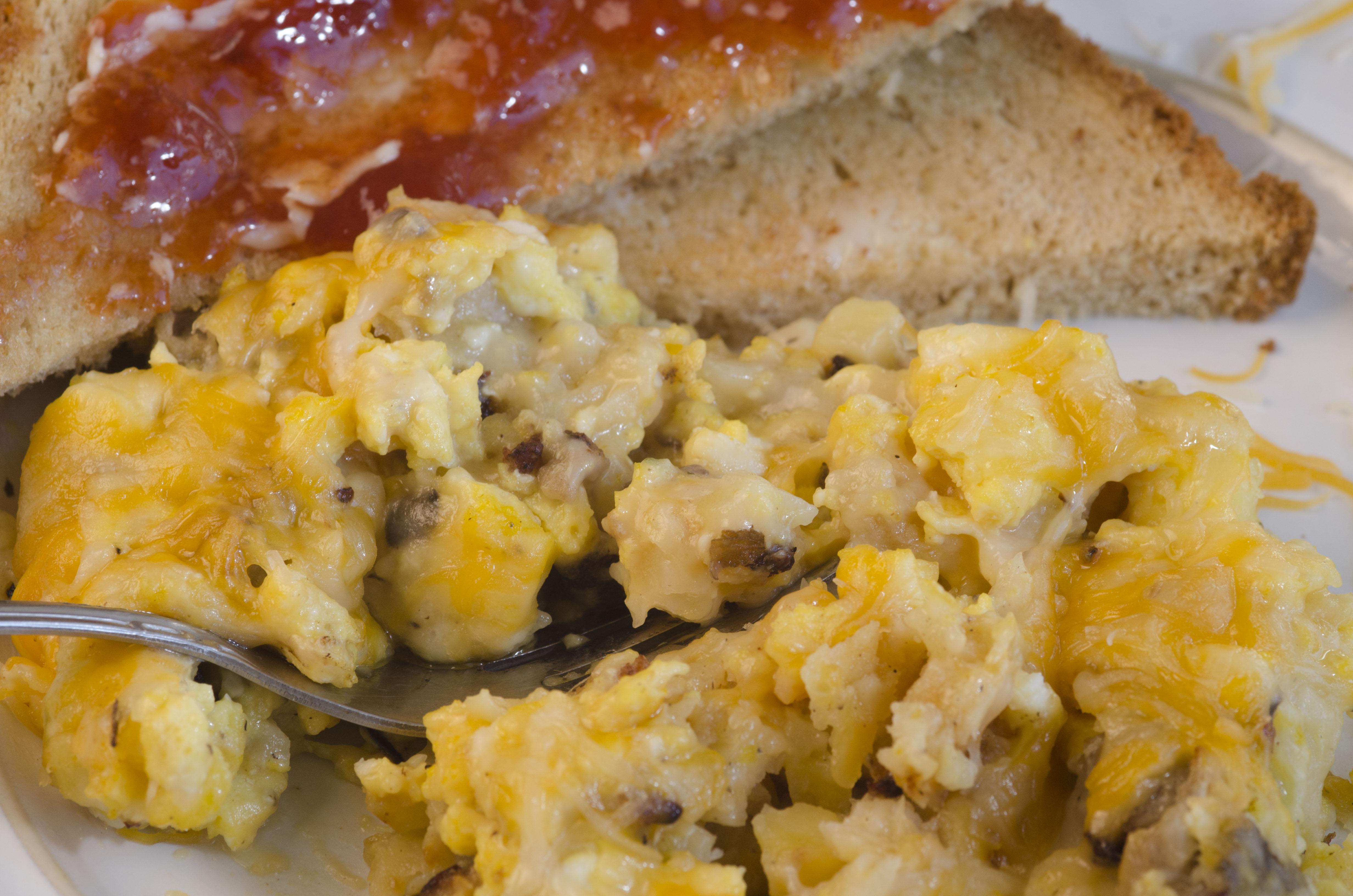 Mushoom Egg Sausage Bake_2