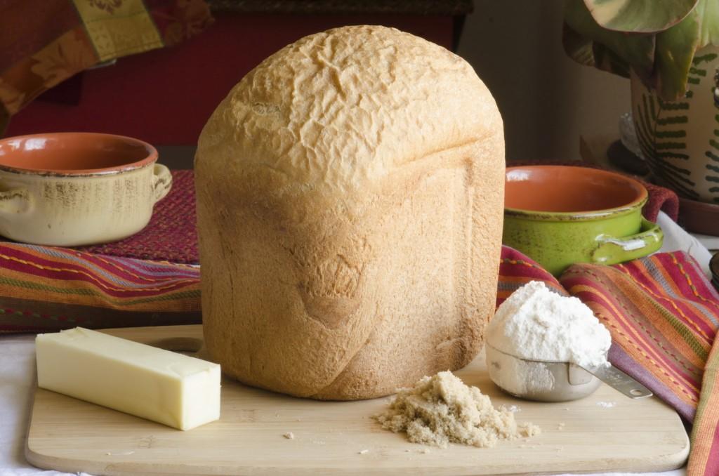 Whole Grain Bread with Bread Machine
