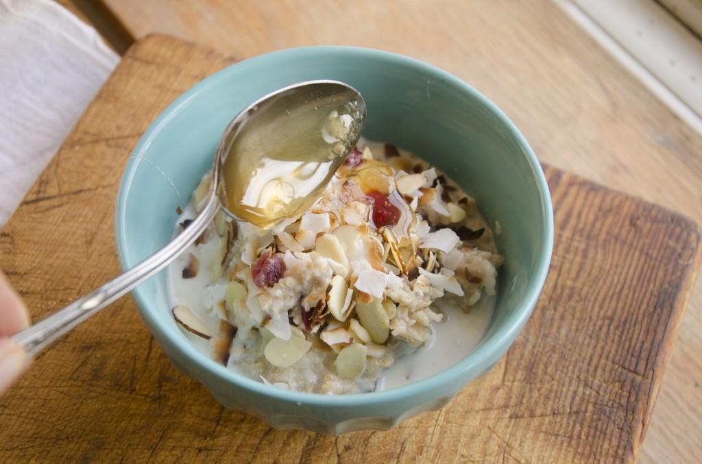 Flax Cranberry Oatmeal