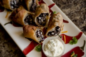 Black Bean Southwest Egg Rolls