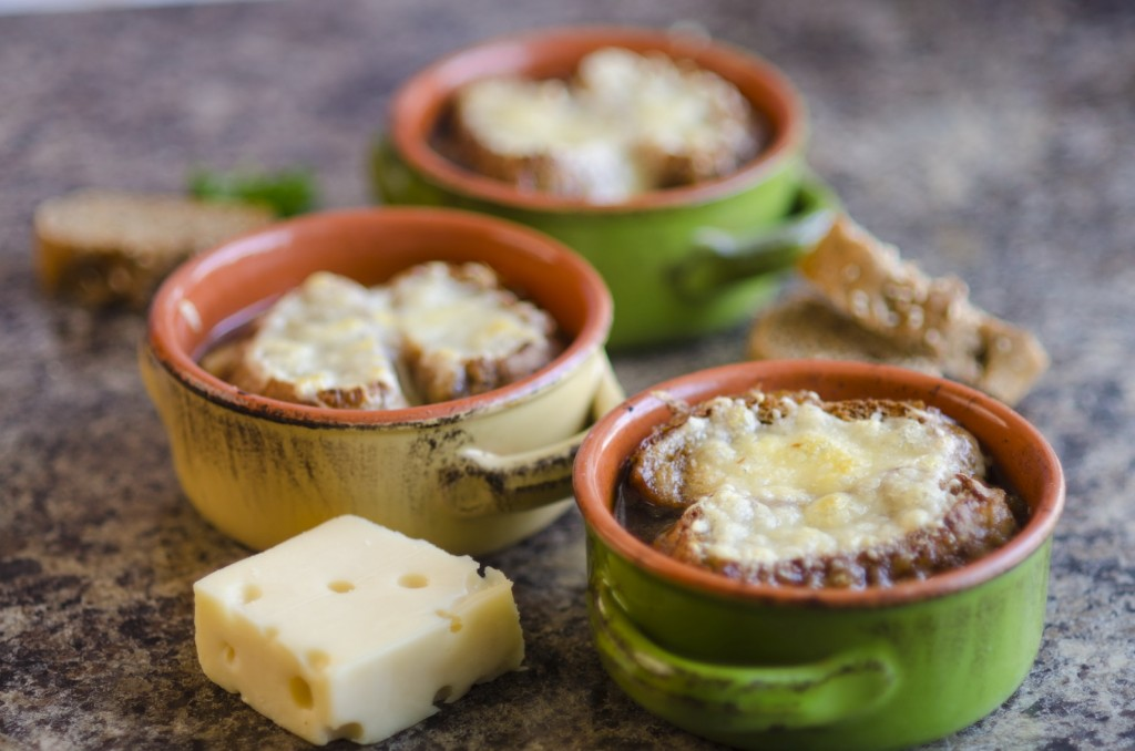 French Onion Parsley Soup
