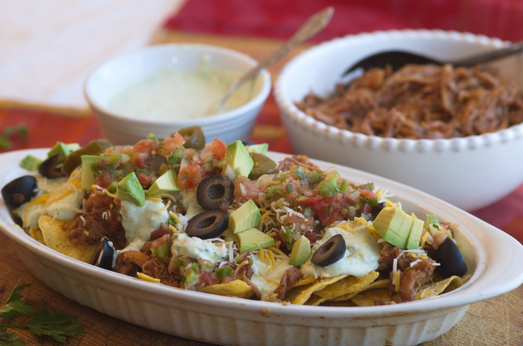 Easy Pulled Pork Nachos