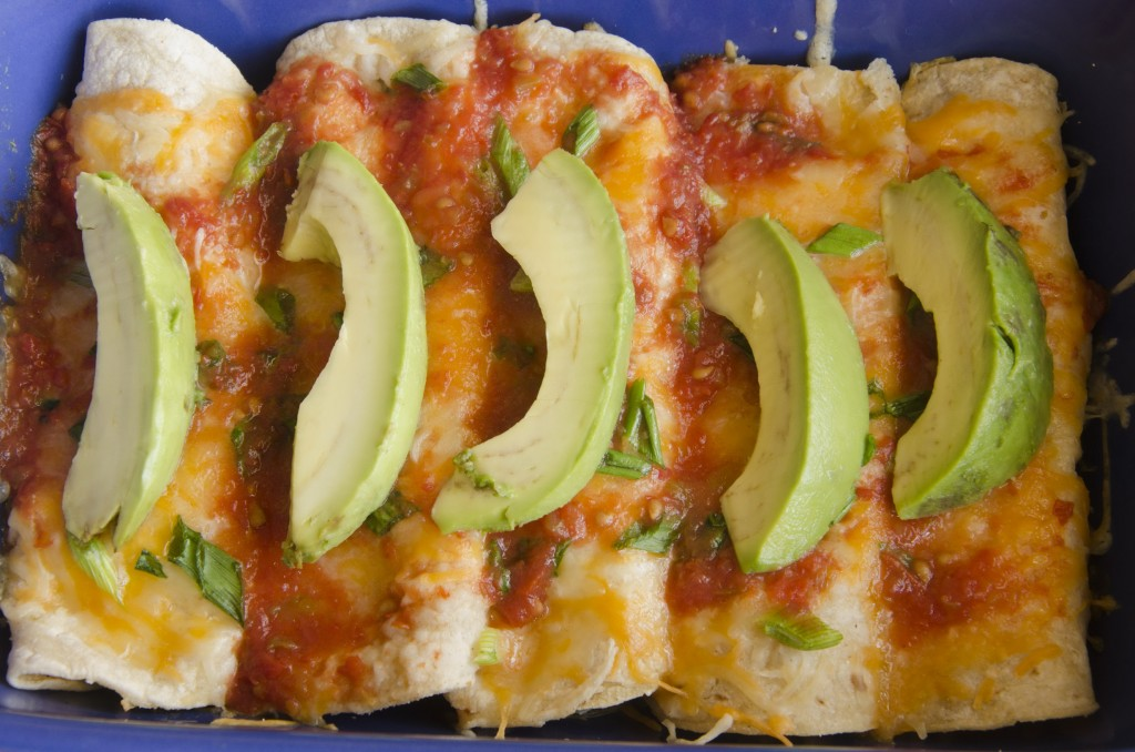 Delicious easy to make Creamy Chicken Crab Enchiladas