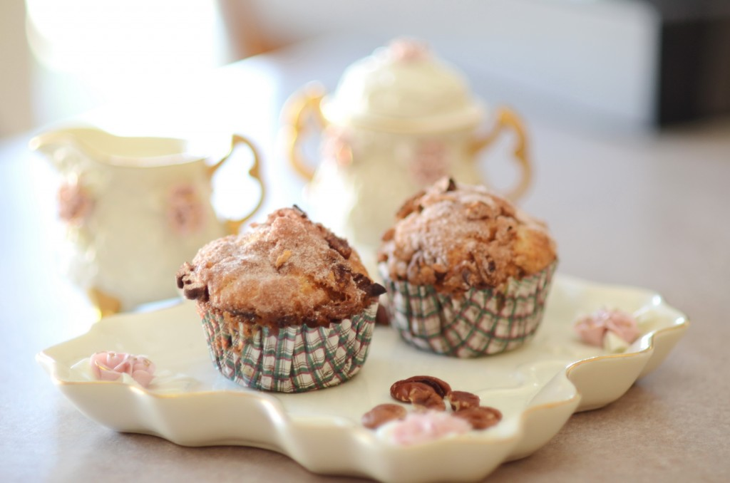 Apple Pecan Crunch Muffins