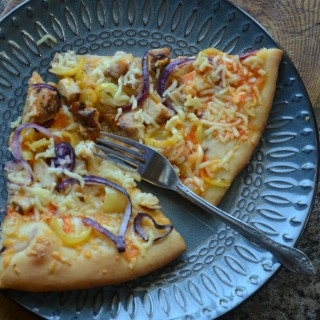 Yummy Buffalo Chicken Pizza, can't wait to make again!