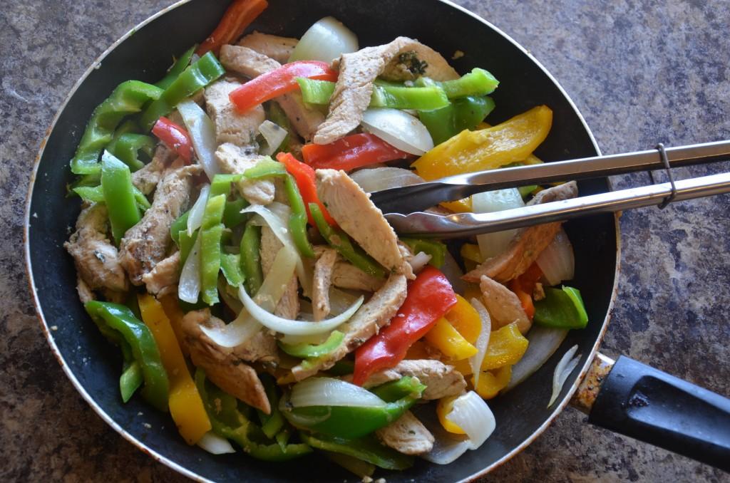 Cilantro Chicken Fajitas