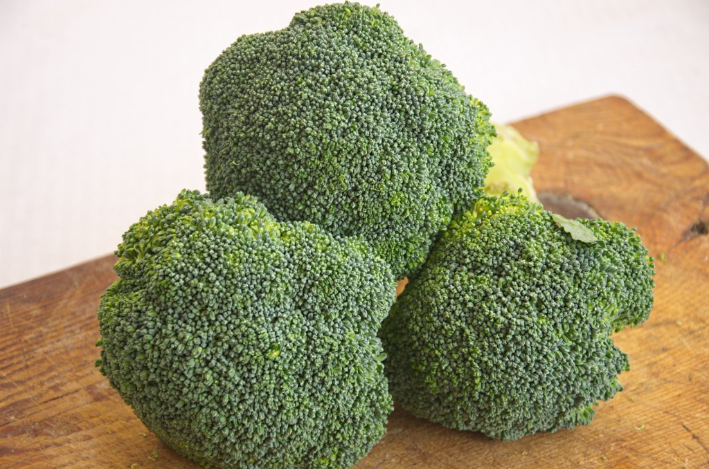 Fresh broccoli is the best and if you are lucky enough to have it in your garden, it is even better!