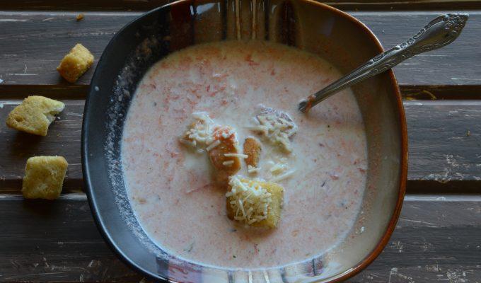 Easy Tomato Soup Parmesan
