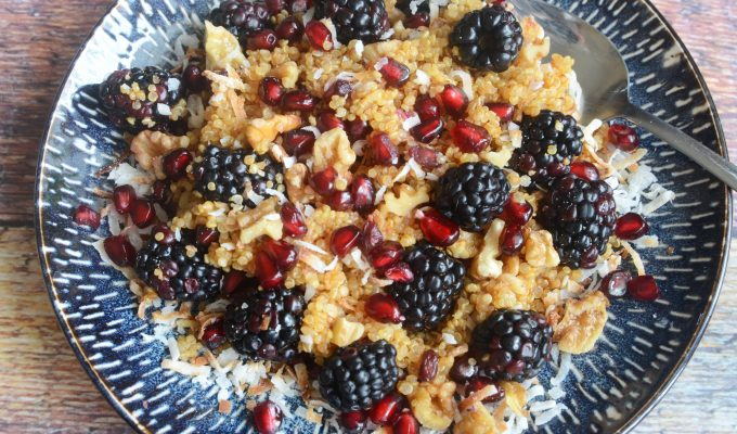 Blackberry Quinoa Breakfast