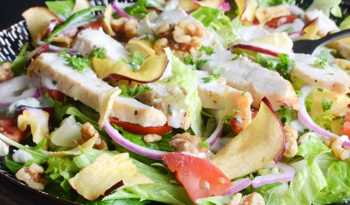 Apple Chip Salad